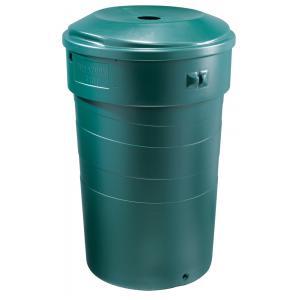 Regenton cirkelvormig 320 liter groen
