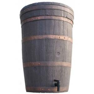 Roto kunststof regenton eikenhout 120 liter