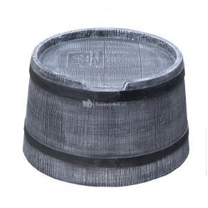 Roto regenton voet voor 50 liter waterton grijs